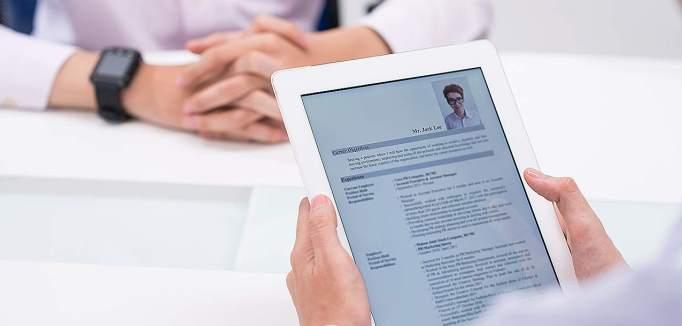 Življenjepis na pametnih napravah