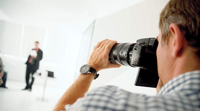 Portfelj fotografa